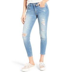 Vigoss Chelsea Distressed Skinny Jeans 27 x 27
